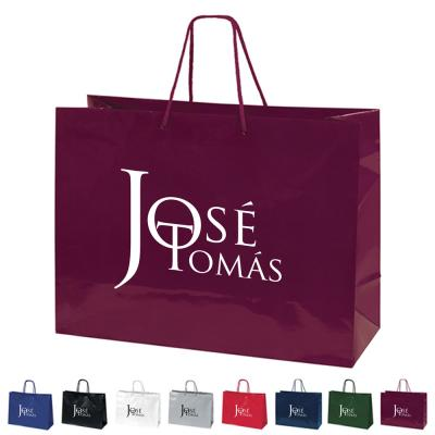 Buy Custom Printed Paper Bags to Market Brand  - Img 1
