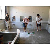 Trabajo de limpieza de casas
