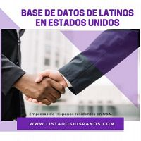 base de datos de latinos en estados unidos