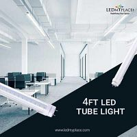How 4ft LED Tubes Can Brighten The Living Rooms More Effectively?