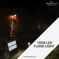 Keep Burglars Away From Entering Your Property By Installing LED Flood Lights