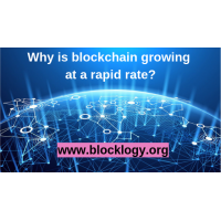 Why is blockchain growing at a rapid rate?