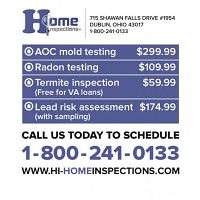 Thorough Mold Inspections in Columbus Ohio