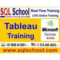Tableau Practical and Real Time Online Training @ SQL School