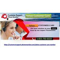 Yahoo Customer Care: The toll-free number is 1-855-792-0222