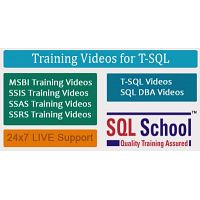 SQL Server Video Training @ SQL School