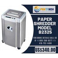 Buy Paper Shredder Model B2325 at Best price