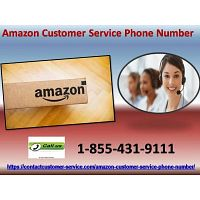 Dial our Amazon Customer Service Phone Number telephone number which is 1-855-431-9111 (toll-free)