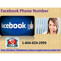 Our Facebook Phone Number is toll-free (1-844-659-2999)