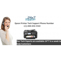Epson printer tech support phone number | +(1)-888-846-5560