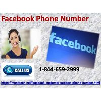 Dial Facebook Phone Number 1-844-659-2999 and get instant Facebook support