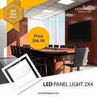 Make Your Showrooms More Beautiful By Installing LED Panel Light 2x4