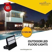 Make HE Commercial Places Look More Safer By Installing LED Outdoor Flood Lights