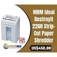 Buy MBM Ideal Destroyit 2260 Strip-Cut Paper Shredder
