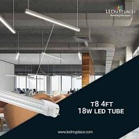 Install Single-ended LED T8 Tubes To Have Easier Installing Process