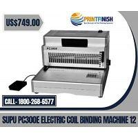 Buy SUPU PC300E Electric Coil Binding Machine 12?