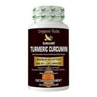 Buy Organic Veda's Turmeric Curcumin Capsules to Complement your Lifestyle