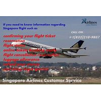 Singapore Airlines Customer Service