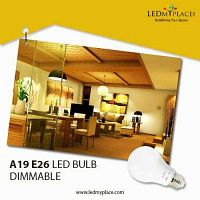 Install Green Lighting Products By Using A19 E26 LED Bulb Dimmable