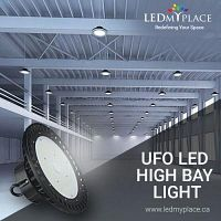 Illuminate Your Warehouse with UFO LED High Bay Lights