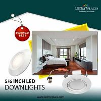 Why do you need to install LED Downlights inside your Homes?