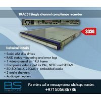 TRACS1 Single channel compliance recorder