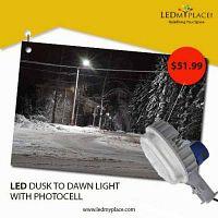 Adopt LED Lighting Technology, Install Modern Designed LED dusk To Dawn Lights
