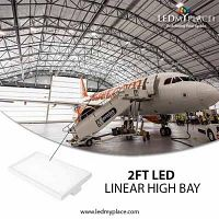Install 2ft 105w Linear High Bay LED Light for Saving Handsome Amount