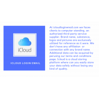 What is icloud email login account.how can we use it ?