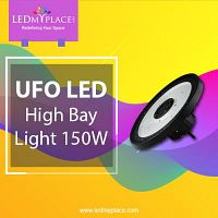 Use 150W LED UFO High Bay Lights for Quicker Installation