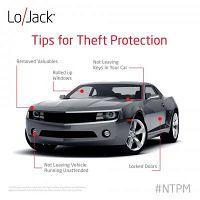 Stolen car tracker