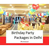 birthday party packages in delhi