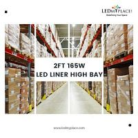 Buy Now 165W LED Linear High Bay Light at Low Price