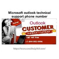 Call 1-844-992-9996 to get Microsoft outlook support from Emailhelp365's Techies