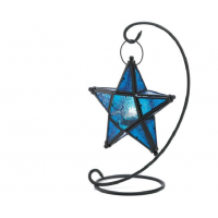 Sapphire Blue Color Star Table Lantern |Outdoor Solar Lights|Hanging Lanterns|Decorative Lanterns