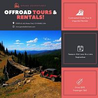 Summer Time Fun!!! Side by Side Rentals & Tours by Grand Adventures