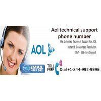 Call toll free phone number 1-844-992-9996 for Aol technical support