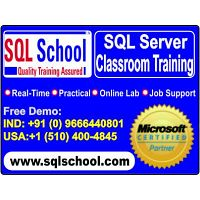 Project Oriented SQL Server Practical Classroom Training