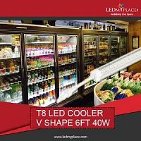 Install 6ft LED Cooler Lights For Desired Sales Results