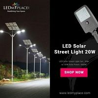 Buy LED Solar Street Light 20W At Low Price