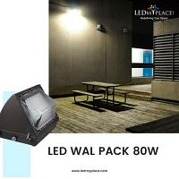 Use LED Wall Pack 80W For Excellent Outdoor Ambience