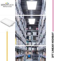 Buy 2FT LED Linear High Bay Lights at Low Price