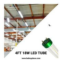 Use 4FT 18W LED Tube To Save Energy Bills