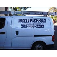 CORAL GABLES DESTUPICIONES,  DRAIN CLEANING   305 300 3283