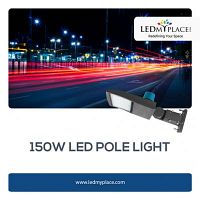 Buy 150W LED Pole Light For Outdoor Lighting