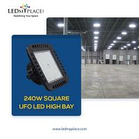 Buy 240W Square UFO LED High Bay Light at Low Price