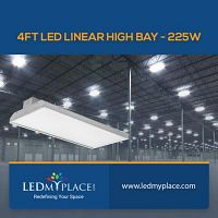 Use 225W LED Linear High Bay To Save Energy Bills