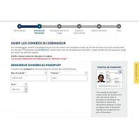 demande visa usa