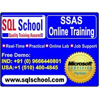 SSAS  Real Time Online Training @ SQL School