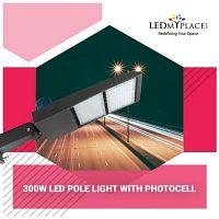 Use 300W LED Pole Light To Save Energy Bills